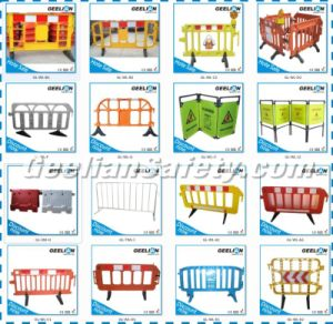 Plastic Movable Fence for Construction, Plastic Parking Barrier pictures & photos
