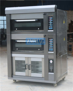 2016 Chinese Manufacturer Home Electric Baking Pizza Bread Deck Oven (ZMC-128FD) pictures & photos