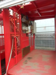 1t and 2t Construction Elevator Hoist for Sale pictures & photos