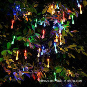 16FT 20LED Solar Powered Water Drops String Lights (RS1019) pictures & photos
