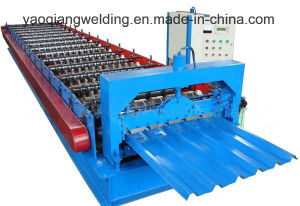 Colored Steel Roof Tile Making Machine pictures & photos