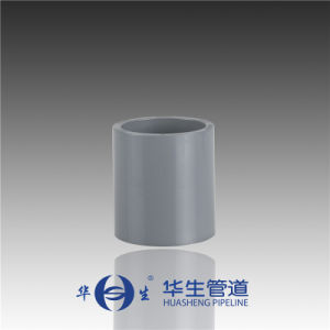 Huasheng Plastic Dn80-400 CPVC DIN/ISO Straight Coupling for Industry pictures & photos
