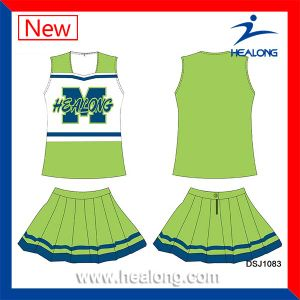 Healong Children Digitally Customized Printed Cheerleader Jerseys pictures & photos