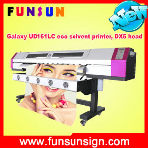 Best Selling Vinyl Stickers Printing Dx5 Head Galaxy Ud211LC Eco Solvent Printer with 1440dpi pictures & photos