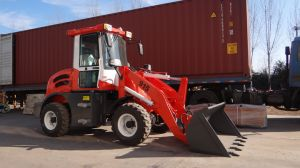 CS1.5ton Mini Loader with Hydraulic Joystick Control pictures & photos