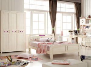 Elegant Solid Wood Bedroom Sets for Children (07006)