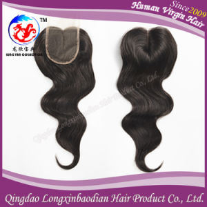 Cuticle Virgin Remy Human Hair Lace Closure Top Closure (CBWB-A710)