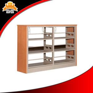 Good Sale Wooden Bookshelf for Preschool pictures & photos