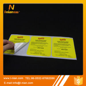 Custom Printing Canned Food Label Sticker pictures & photos