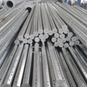 Galvanized Conical Polygonal Electric Metal Post Steel Pole pictures & photos