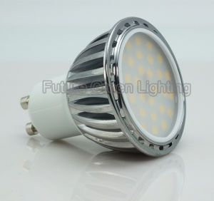6.5W GU10 LED Lamp with Aluminum Shell pictures & photos