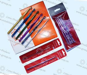 Alu Crochet Hook Sewing Kit Aluminum Crochet Hook with Top Quality pictures & photos