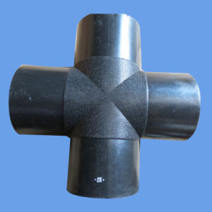 Butt Fusion Tee HDPE Pipe Fitting for Water Supply pictures & photos