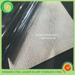 Wall Decorate Embossed Metal Panel 201 304 Stainless Steel Sheet with Price List pictures & photos