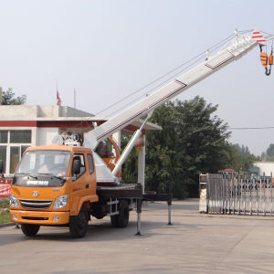 7ton Tire Truck Crane with Lowe Price pictures & photos