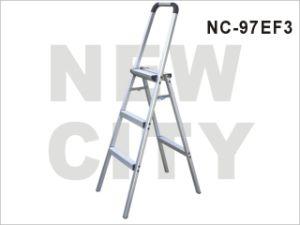 Aluminum-Alloy Folding Step Ladder with Handrail (Nc-97ef 3)