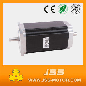 NEMA23 382oz/in 3.0A Stepper Motor with 112mm Height (Dual shaft 8mm diameter) pictures & photos