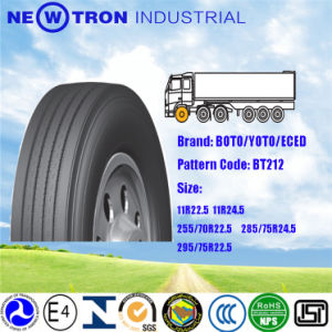 Bt212n Cheap Price Truck Tyre 285/75r24.5, Boto Green Steer Tyre pictures & photos