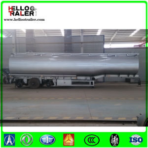 Tri-Axle 42000 Liters Fuel Tanker Semi Trailer with Air Suspension Fuel Tank pictures & photos