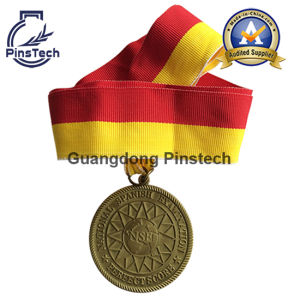 Souvenir Gifts Medal with Matt Gold Finish pictures & photos