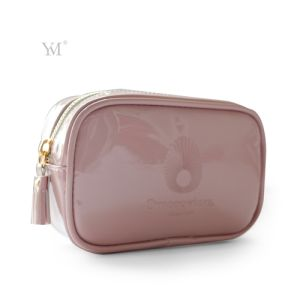 Low Price Latest Travel Leather Cosmetic Toiletry Makeup Lady Bag pictures & photos