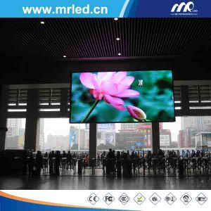 Shenzhen P4/P5/P6 Indoor Die Casting Aluminium LED Screen Display (P5/P6) pictures & photos
