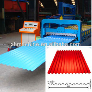 Steel Corrugation Roof Panel Forming Roll Curving Machine pictures & photos