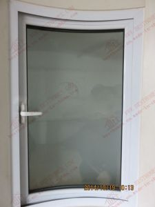 Professional Manufacturer of PVC Curved Casement Window (BHP-CWA18) pictures & photos