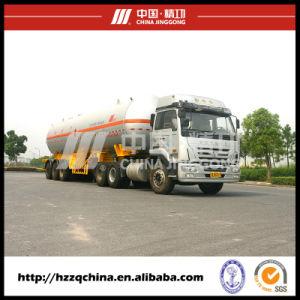 39500L SUS Single Row Tire Liquified Gas Po Transportation (HZZ9403GYQ) pictures & photos