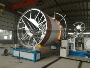 HDPE Large Diameter Winding Spiral Pipe Production Equipment pictures & photos