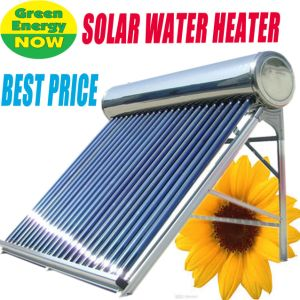 Pressurized Stainless Steel Heat Pipe Solar Collector/Solar Water Heater pictures & photos
