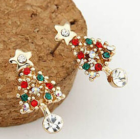 Christmas Jewelry/Christmas Earring/Christmas Tree (XER13370) pictures & photos