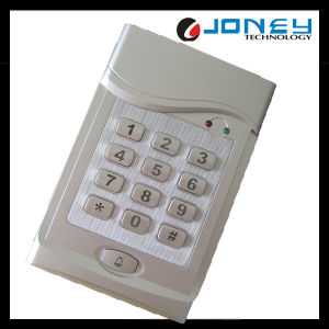 Silver and Black Single Door Access Control with Alarming Interface pictures & photos