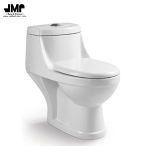 Indian Standard Wc Bathroom One Piece Ceramic Toilet pictures & photos