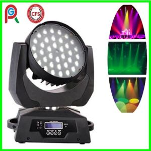 RGBW 36X10W Wash LED Moving Head Light with Zoom pictures & photos