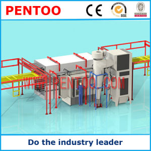 High Quality Fan Parts Powder Coating Production Line pictures & photos
