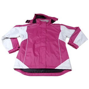 Women′s Polyester Waterproof Winter Parka Outdoor Workwear Apparel Jacket (IC24) pictures & photos