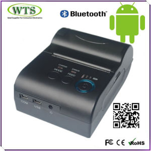 Elegant Design Mini Wireless Bluetooth Printer with Android Compatible