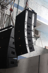 "100W Dual 5"" Full Range Mini Line Array Speaker System pictures & photos"