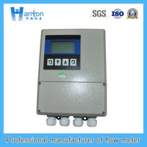 Hanton Carbon Steel Fixed Ultrasonic (Flow Meter) Flowmeter pictures & photos