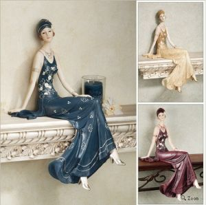 Customized Resin Elegant Lady Souvenir with High Quality Paintting pictures & photos