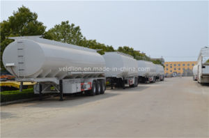 China 3 Axles 45000L Oil Tanker Semi Trailer pictures & photos