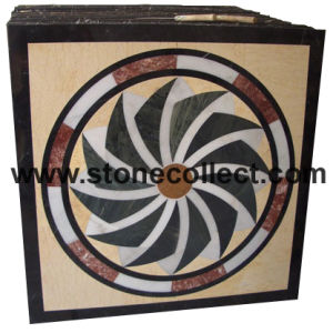 Marble Waterjet Medallion pictures & photos