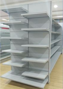 High Quality Supermarket MID Shelf with End Cap pictures & photos