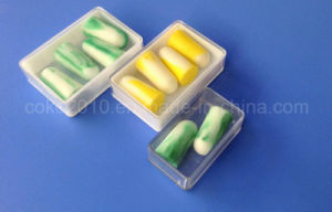 Hearing Protection High-End Safety PU Earplug Soundproof Bullet Foam Earplugs pictures & photos