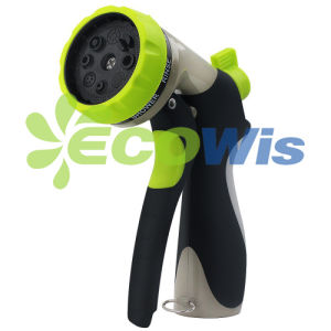 8 Pattern Heavy Duty Metal Garden Hose Nozzle Sprayer (HT1350) pictures & photos