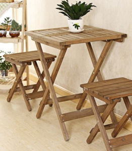 Solid Wood Folding Table with High Quality (M-X3006) pictures & photos