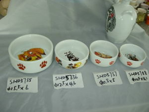 Ceramic Pet Bowls (CY-P5785) pictures & photos