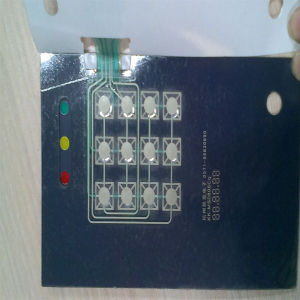 Tactile Polyester OEM Embossed Push Button Membrane Switch pictures & photos