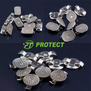 Orthodontic Lingual Button Two Wings Bondable Button Trapezoid Shape